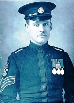 PERCY SHAW D.C.M., 3302 C/SERGEANT, 1st Battalion, Rifle Brigade (Prince Consorts Own)