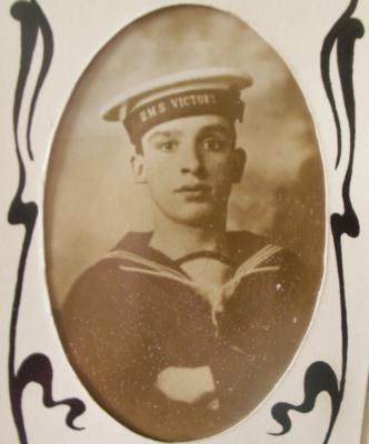 Ernest Calpin, Royal Navy
