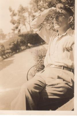 Bertie Pollard, Served in North Africa WWII, ad a desert rat. Captured and escaped to Italy.