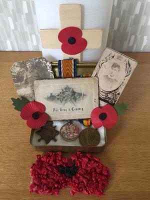 Richard  Colley, Corporal Yorkshire Regiment