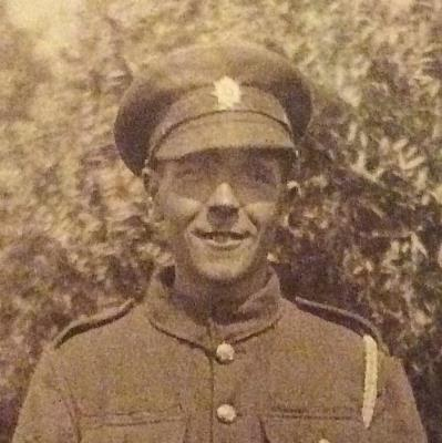 Hugh Cecil Oldridge, Rifleman ,  Kings Royal Rifle Corps 9th Bn