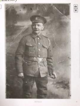 Charles Curtis, Royal Army Medical Corps WW1
