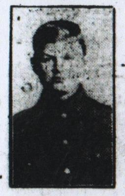Charles William Crossland, Private 16058, 2nd Battalion East Yorkshire Regiment