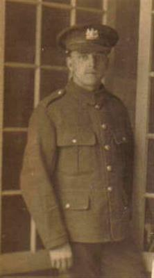 James Oldfield, Private 20 Batt Manchester Regiment