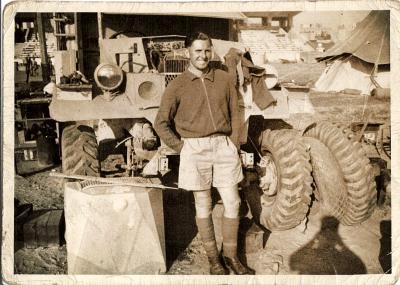 William Nicholls, Lance Corporal 1939-1945 North Africa.