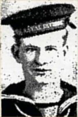 Thomas Wilson, RNVR, Clyde Z/2324, Collingwood Battalion, Rank Able Seaman