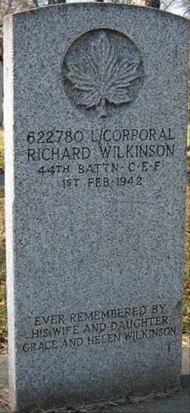 Richard Wilkinson, L/Cpl