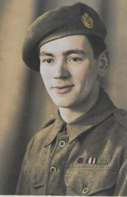 Abraham Edward (Ted) Young, Royal Engineers, Sapper