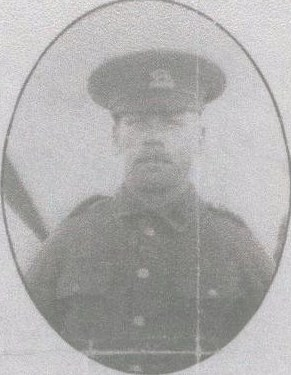 Herbert Mountford, Private 10622 7th Battalion of the Leicestershire Regiment