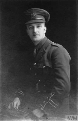 Harold Abbott, Captain, 10th Manchester Regiment