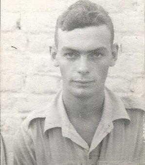 Eric Arthur Clements, RASC, Staff Sergeant.