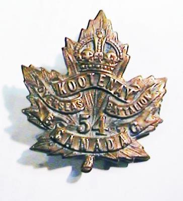 Frank McLaggan, 442729 Sargent B Company 54th Kootenay Battalion
