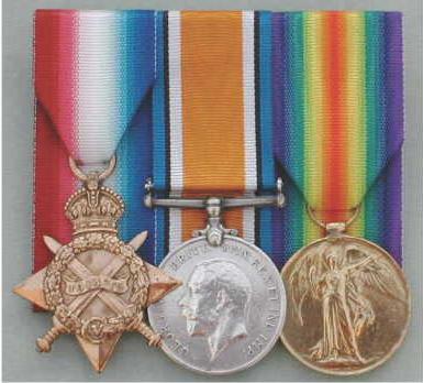 Phillip Schur, Lieutenant 9th Service Battalion, Nott's and Derbyshire Regiment