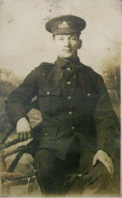 Charles Boulton, Private 7th Bttn North Staffords
