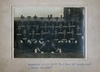 Augustus Yule, Welch Regiment Sargent