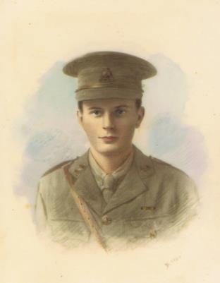 Donald Beric Gumbley, Lieutenant, Wiltshire Regiment