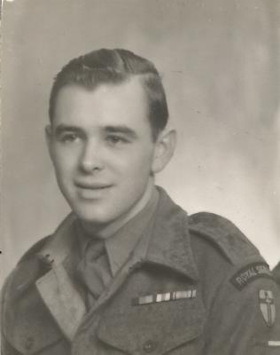 john rowland warriner, private Royal Signals
