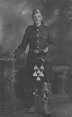 John Henderson, Private, Argyll & Sutherland Highlanders