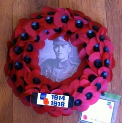 Arthur John Pope, Rifleman 1st Monmouthshire no 2170