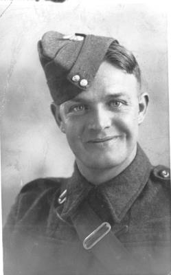 Bert William James Connew, Private 3rd Bn, Monmouthshire Regiment.