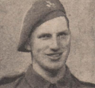 George Ralph Walker, Private, 14805137, King's Shropshire Light Infantry, 4th Battalion. DOD 10/04/1945