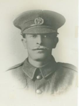 Frederick Spearink, 2nd Bn. Hampshire Regiment 11945 Private