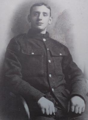 James Thomas Davis, Private 3647