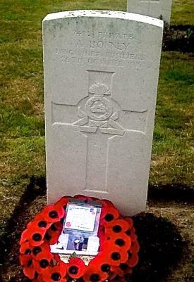 Arthur Bonney, 7482 Lancashire Fusiliers.