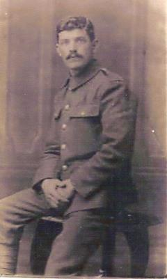 JAMES JONES, Private in 1/5th Battalion  Northumberland Fusiliers