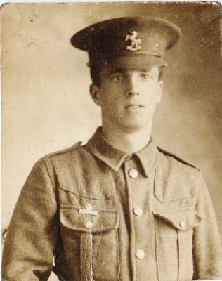 Norman Wood Ramsden, Private 9521