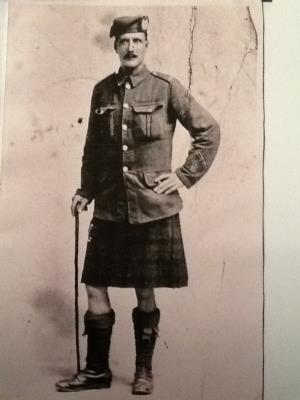 William Mitchell, Gordon Highlanders