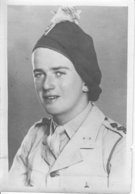 Terry Barry, 2nd Lieutenant, London Irish Rifles.