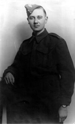 Frank Brookes, Private Worcester Regiment