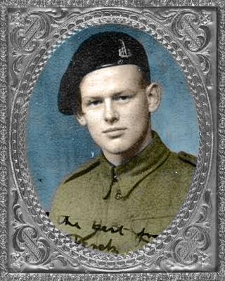 Derek Earle Hamilton-Peters, Trooper, 1st Royal Dragoons
