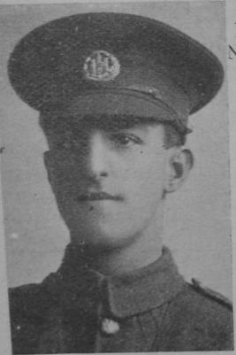 Frank Smith, Lance Corporal in the 7th Battalion of the Northamptonshire Regiment