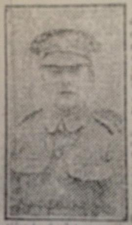 William Gibney, Lance Corporal,Royal Fusiliers.