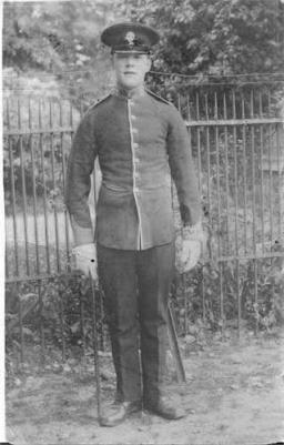 Robert Mark Faulkner, Corporal service number G/4560