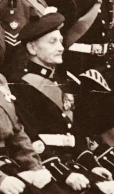 Robert Mitchell  Gibson , Highland Light Infantry/ Quater Master Segent