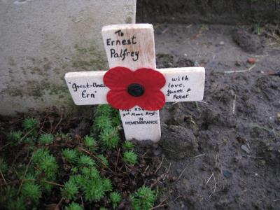 Ernest Palfrey, Private 2341 2nd Monmouthshire Regt