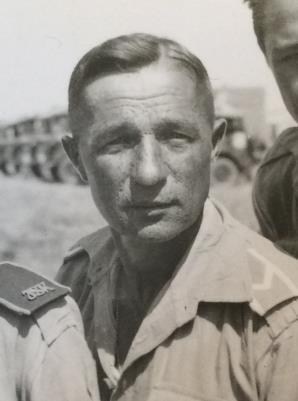 Cieslaw Cartowski, WWi Polish Calvary- WW II Warrant Officer Polish 2nd Corps 8th Army