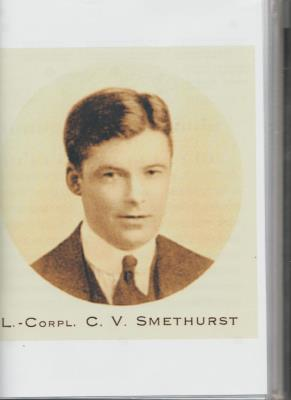 Cyril Valentine Smethurst, Corporal, HAC 2nd Battalion