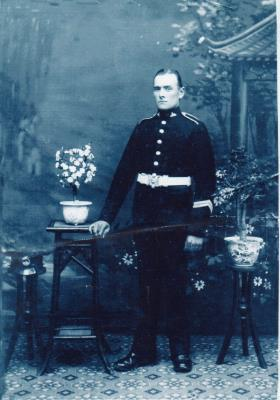Charles Barton, joined the welsh borderers before ww1