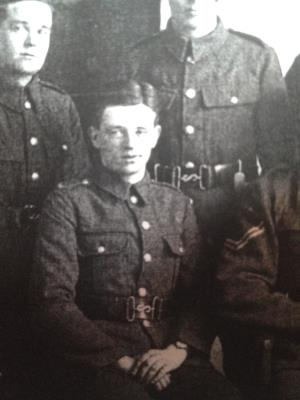 Frederick Watson  Marriott , Lance corporal 10th BT Lincolnshire regiment