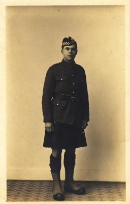 Kenneth Mackenzie, Seaforth Highlanders