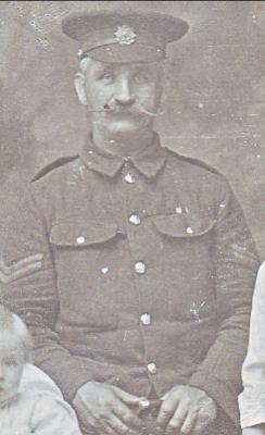 James Keenan, Private, Border Regiment.1st Battalion.