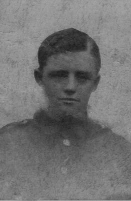 Walter Jackson, Private in 1st Battalion A Coy East Yorkshire Regiment