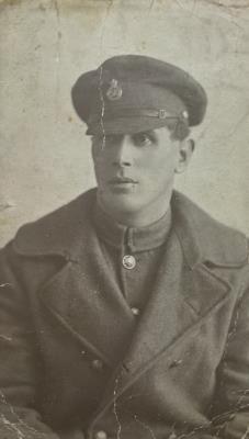 Fred Parker, Driver 5561 Royal Field Artillery