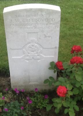 John William Greenwood, Private 241478
