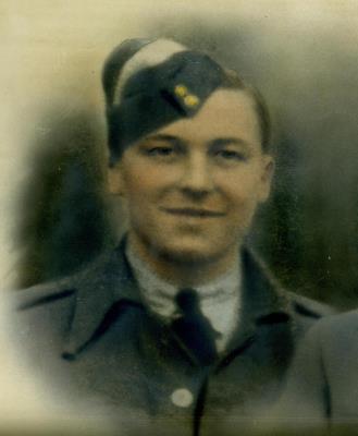 Leslie James Friend, RAF Sgt (Pilot) 1318189