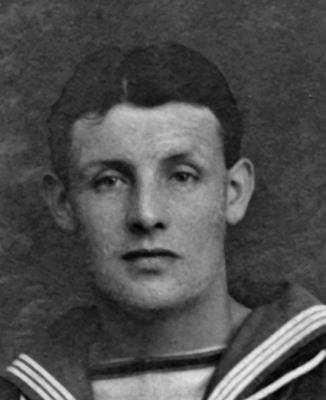 William Harvey, Royal Navy Cooper 4th Class. Alnwick Castle 19th March 1917 was torpedoed by a German U Boat U - 81